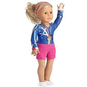 Star Gymnast Set for 18-inch Dolls