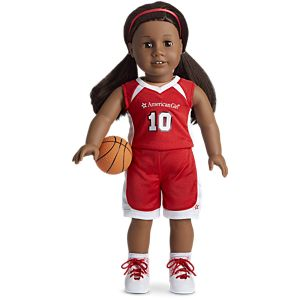 Shooting Star Basketball Outfit for 18-inch Dolls