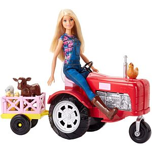 Barbie® Doll and Tractor