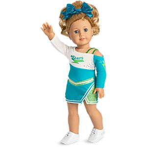 bca9382bb98 Competition Cheer Outfit for 18-inch Dolls