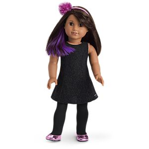 Luciana's Starry Night Outfit for 18-inch Dolls
