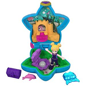 Polly Pocket™ Aqua Awesome! Aquarium™ Compact