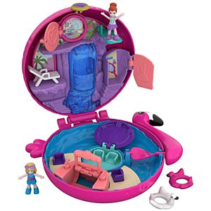 Polly Pocket™ Flamingo Floatie Compact