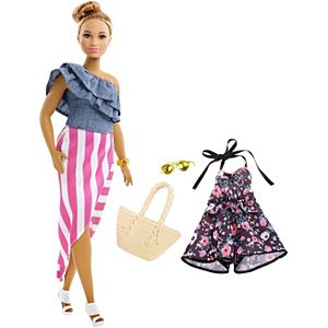 Barbie® Fashionistas™ 102 Doll & Fashions - Curvy