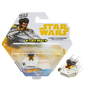 Hot Wheels® Star Wars™ Lando Calrissian™ Millennium Falcon™ Vehicle