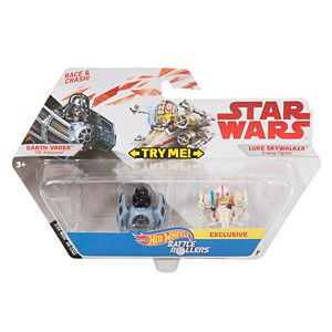 Hot Wheels® Star Wars™ Darth Vader™ vs Luke Skywalker 2-Pack Vehicle