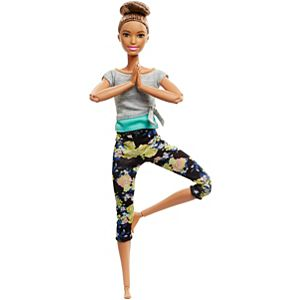Barbie® Made to Move™ Doll – Original with Brunette Updo
