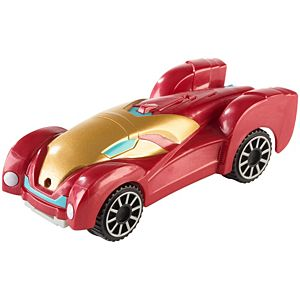 Hot Wheels® Marvel Flip Fighters™ Iron Man Vehicle