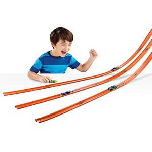 Hot Wheels® Track Builder Car & Mega Track Pack