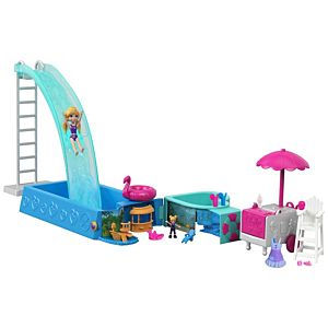 Polly Pocket® Splashtastic Pool Surprise™