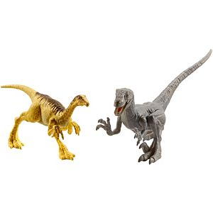 Jurassic World 2-Pack Dino #3 Velociraptor & Gallimimus