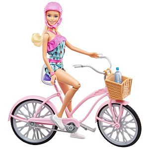 Barbie® Doll & Bike