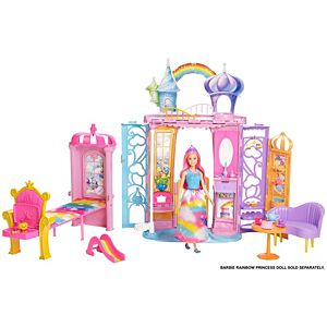 Barbie® Dreamtopia Portable Castle Dollhouse