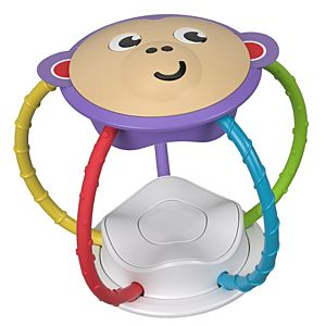 Twist & Turn Monkey Rattle