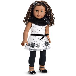 Let It Snow Outfit for 18-inch Dolls