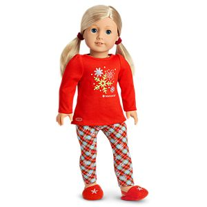 Holiday Dreams Pajamas for 18-inch Dolls