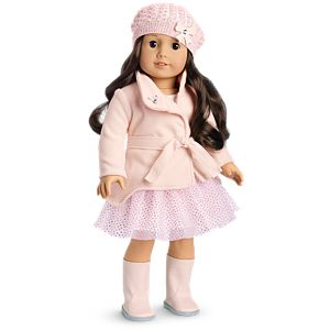 Winter Sparkles Outfit for 18-inch Dolls