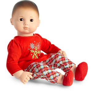 Snowy Dreams PJs for Bitty Baby Dolls