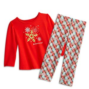 Snowy Dreams PJs for Little Girls
