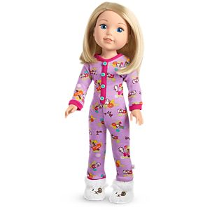 Hop To It PJs for WellieWishers Dolls