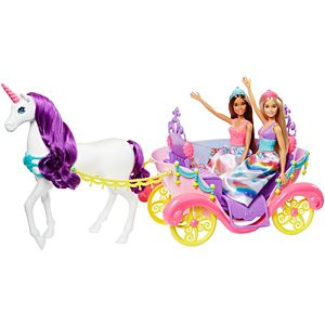 Barbie® Dreamtopia Princess Dolls & Carriage
