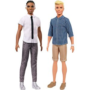 Ken® Fashionistas® Original Doll 2-Pack Gift Set