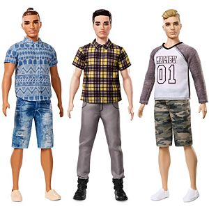 Ken® Fashionistas® Broad Doll 3-Pack Gift Set