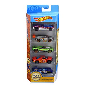 Hot Wheels® 50Th Track Stars 5-Pack