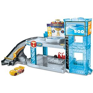 Disney•Pixar Cars Florida 500 Racing Garage Playset