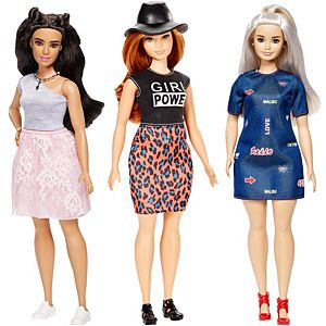 Barbie® Fashionistas® Curvy 3-Pack  Gift Set