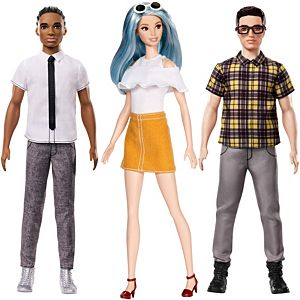Barbie® and Ken® Fashionistas® Friends 3-Pack Gift Set
