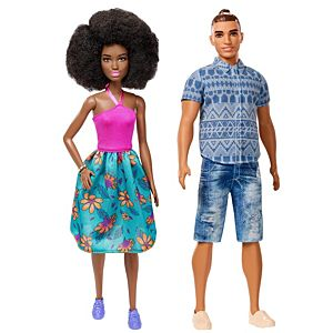 Barbie® and Ken® Fashionistas® Best Friends 2-Pack Gift Set