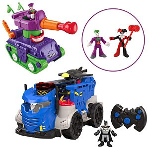 Imaginext® DC Super Friends™ RC Mobile Command Center Gift Set
