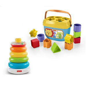 Rock-A-Stack and Baby's First Blocks Bundle