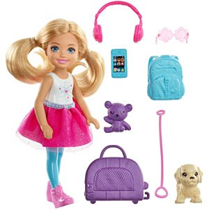 Barbie® Travel ​Chelsea™ Doll