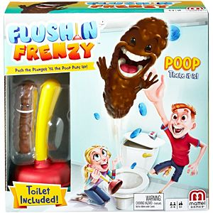 Flushin' Frenzy™ - Funny Toilet Game For Kids