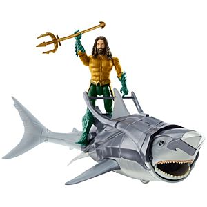 Aquaman™ 6-inch Aquaman™ & Warrior Shark Figure & Creature Pack