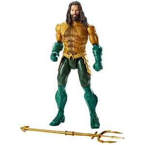 Aquaman™ 12-inch Lights and Sounds Trident Strike Aquaman™ Figure