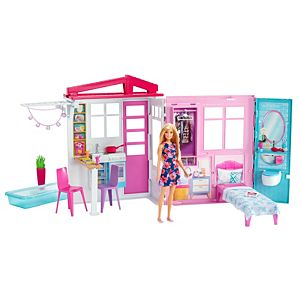 Barbie House and Doll