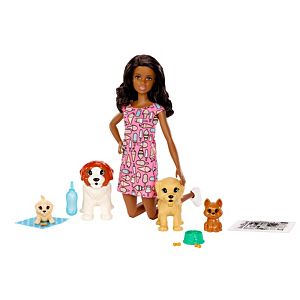 Barbie® Doggy Daycare™ Doll & Pets