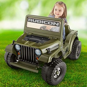 Power Wheels® Jeep® Wrangler Rubicon Ride-On Vehicle