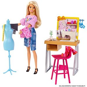 Barbie Career Places Fashion Design Studio
