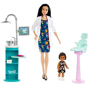 Barbie® Dentist Doll & Playset