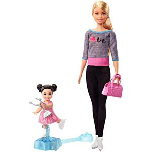 Barbie® Ice-Skating Coach Dolls & Playset