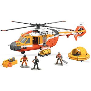 Mega Construx™ Probuilder™ Helicopter Rescue Construction Set