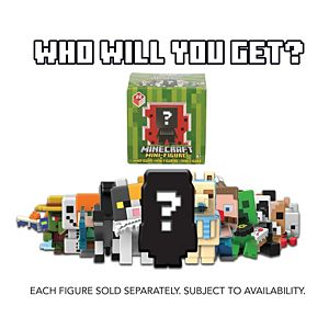 Minecraft Mini Figure Checklane, Surprise Pack