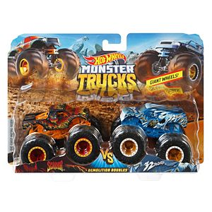 Hot Wheels® Monster Trucks 1:64 Demo Doubles 2-Pk Collection