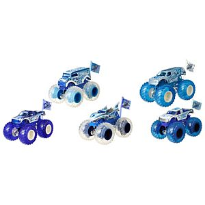 Hot Wheels® Monster Trucks 1:64 Blizzard Bashers™ Vehicle Collection