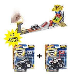 Hot Wheels® Monster Jam® Front-Flip Takedown Gift Set