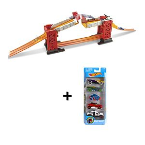 Hot Wheels® Track Builder Stunt Bridge Gift Set